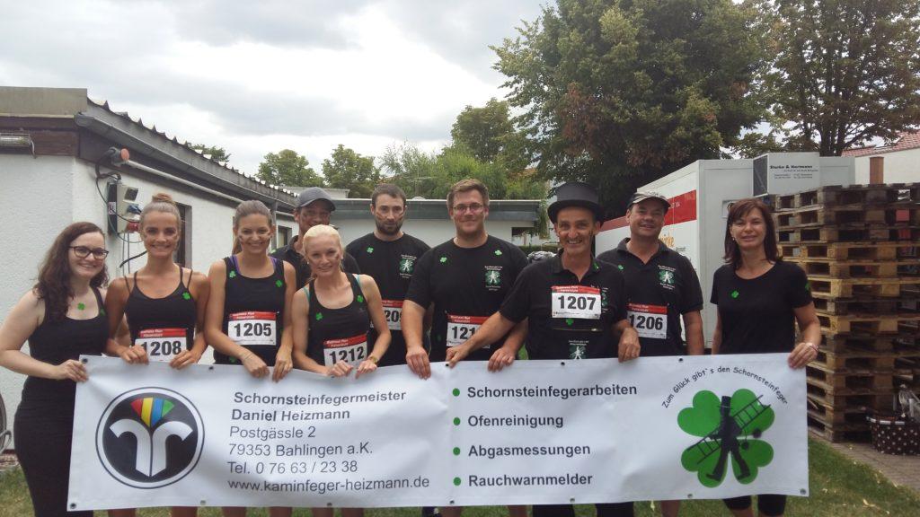 Business Run Kaiserstuhl 2017 Kaminfeger Heizmann